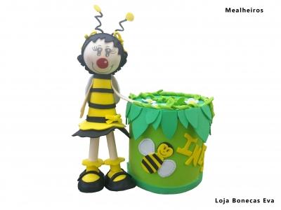 Alcancía abeja
