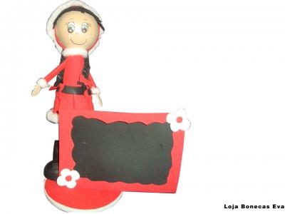 Muñeca de la madre Navidad
