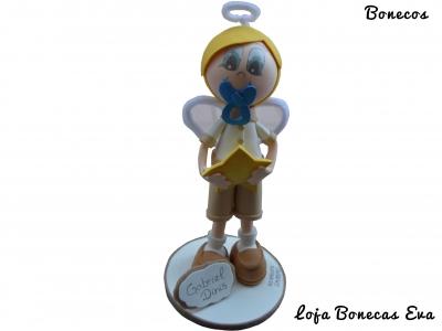 Boneco em Eva Batizado Gabriel