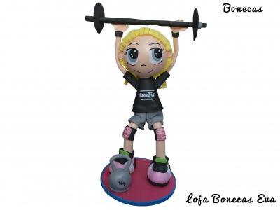 Boneca em Eva Crossfit