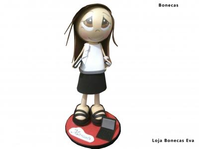 Boneca Assistente Administrativa Manuela