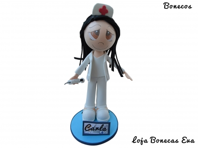 Muñeca enfermera Carla