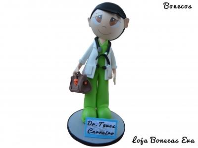 Muñeca Doctor Teves Carreiro