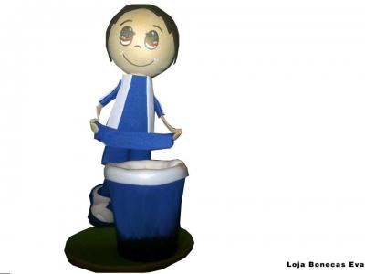 Club bleu de poupée