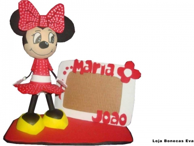 Porta Fotos Minnie