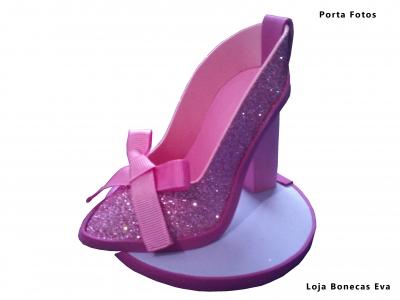 Porta Telemóveis Sapato Brilhante