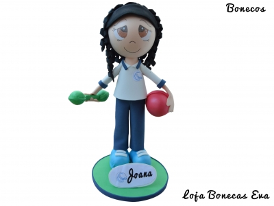 Boneca Fisioterapeuta Joana