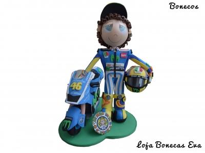 Boneco em Eva Valentino Rossi