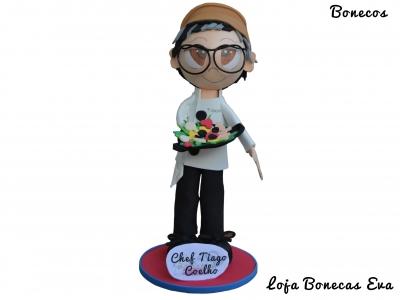 Boneco em Eva Chef Tiago Coelho
