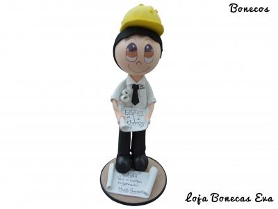 Ingeniero Civil de la muñeca de Eva