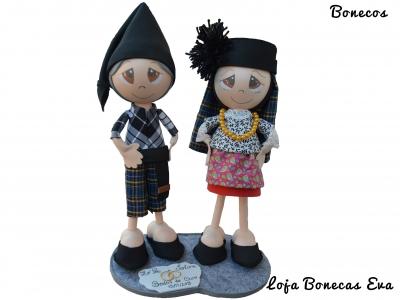 Muñecas de pareja Nazareno