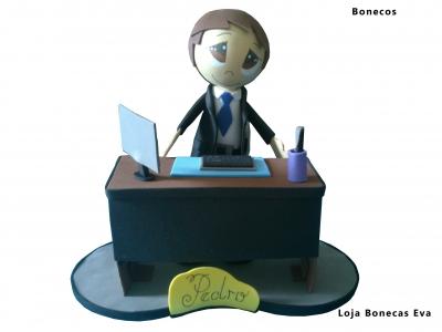 Banquero Peter muñeca