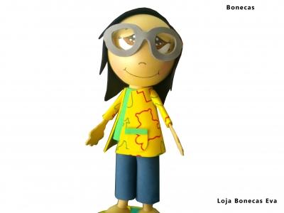 Muñeca Celeste asistente de educación